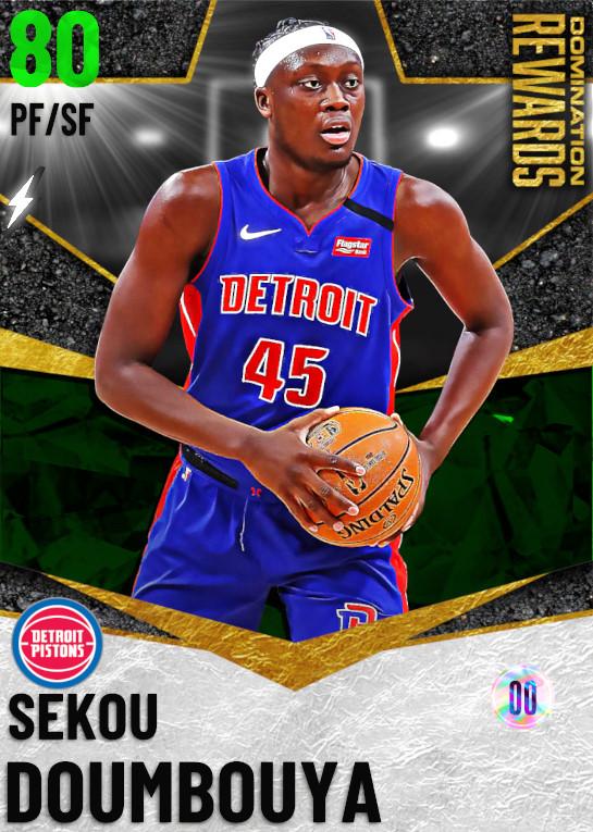 80 Sekou Doumbouya   Domination Rewards