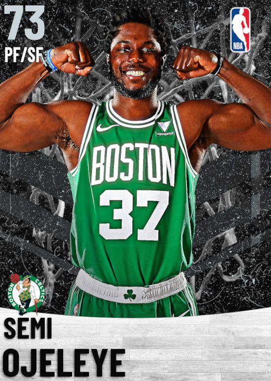 73 Semi Ojeleye   Boston Celtics