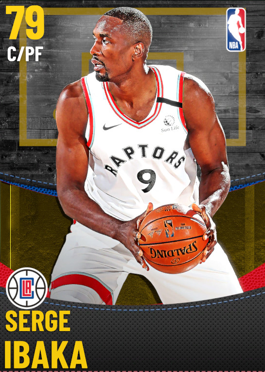 79 Serge Ibaka | Los Angeles Clippers