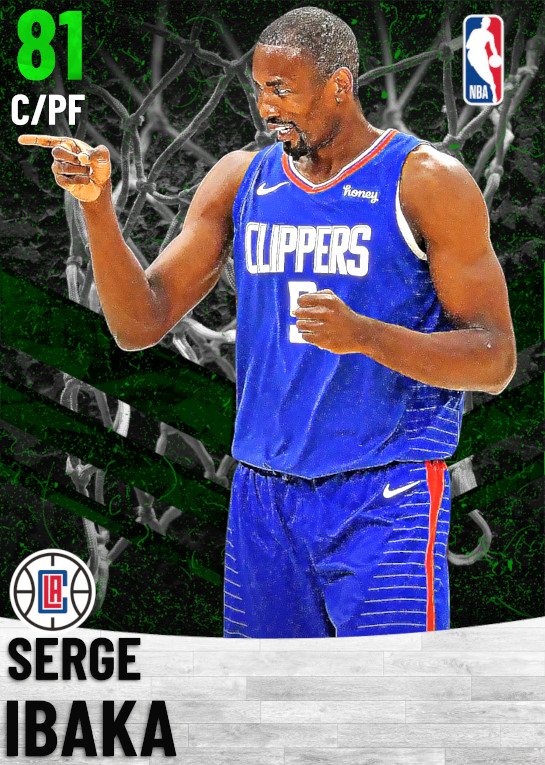 81 Serge Ibaka   Los Angeles Clippers