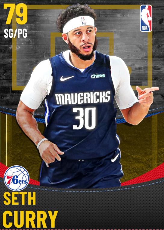 79 Seth Curry | Philadelphia 76ers