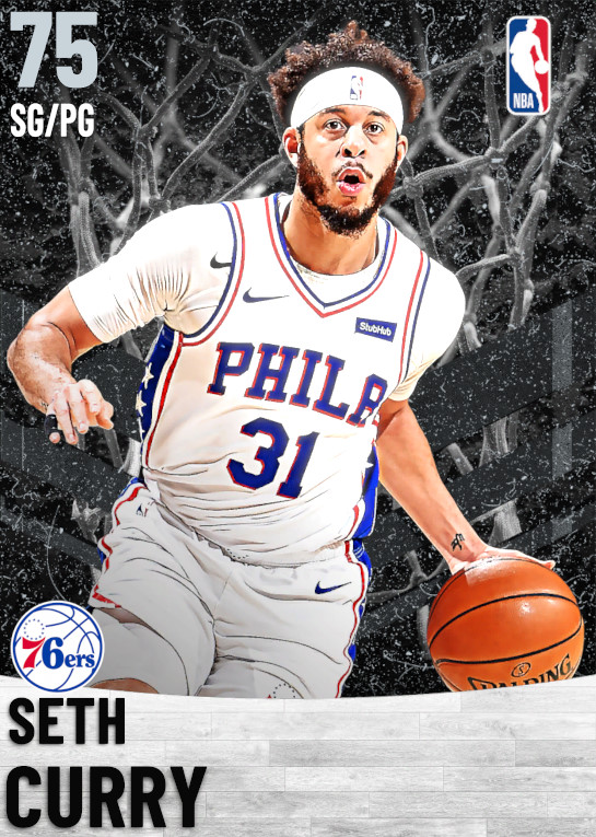 75 Seth Curry   Philadelphia 76ers