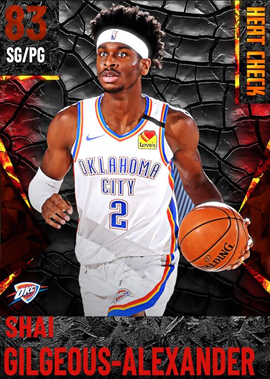 83 Shai Gilgeous-Alexander | Oklahoma City Thunder