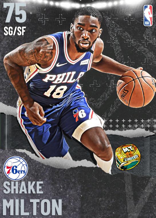 75 Shake Milton   Philadelphia 76ers