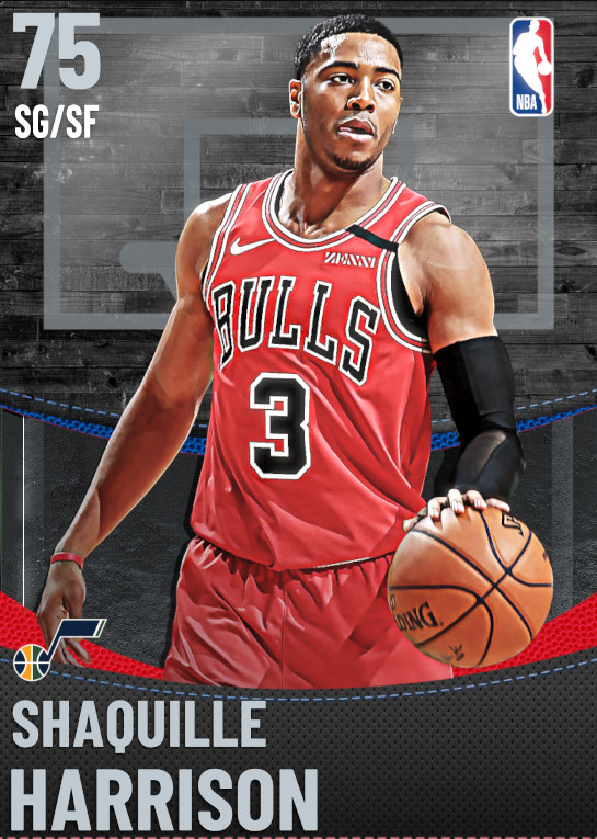 75 Shaquille Harrison | Utah Jazz