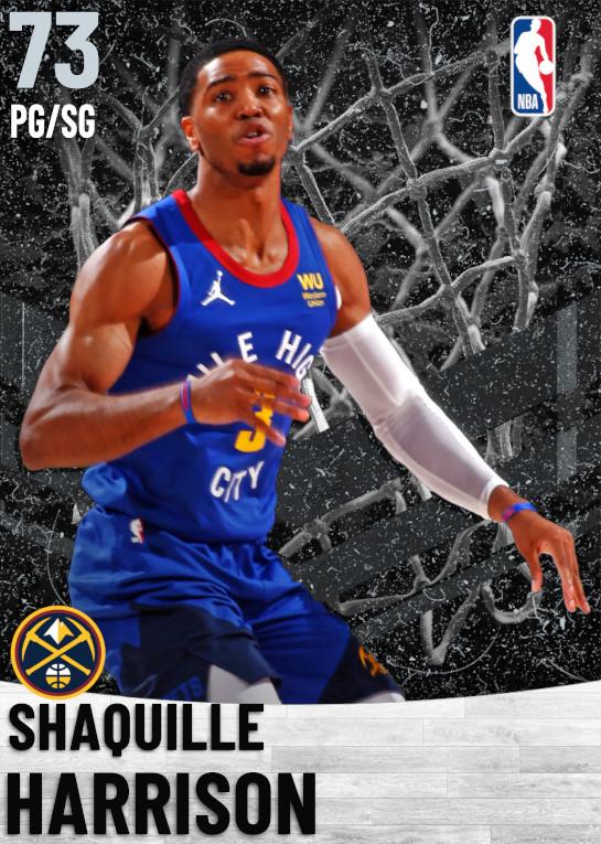 73 Shaquille Harrison   Denver Nuggets