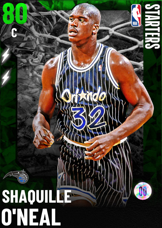 80 Shaquille O'Neal   Starter