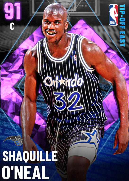 91 Shaquille O'Neal | undefined