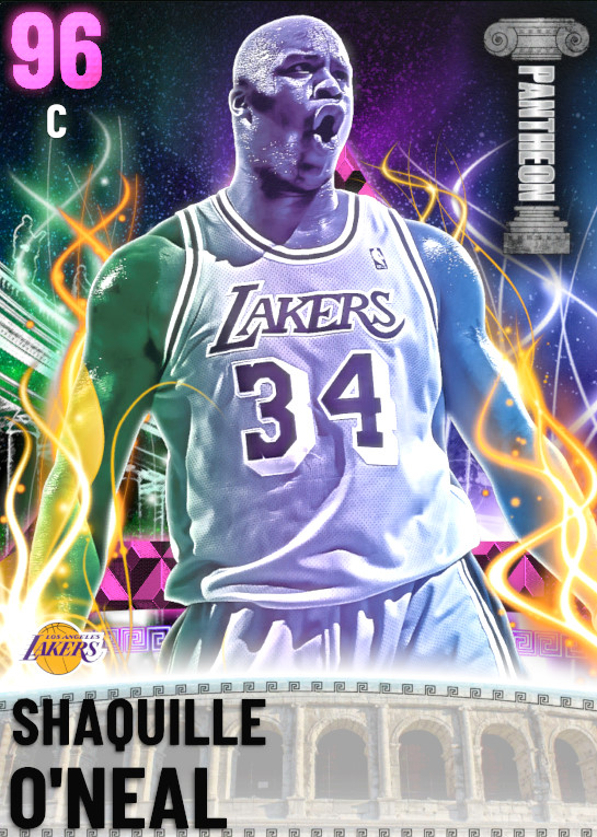 96 Shaquille O'Neal | undefined