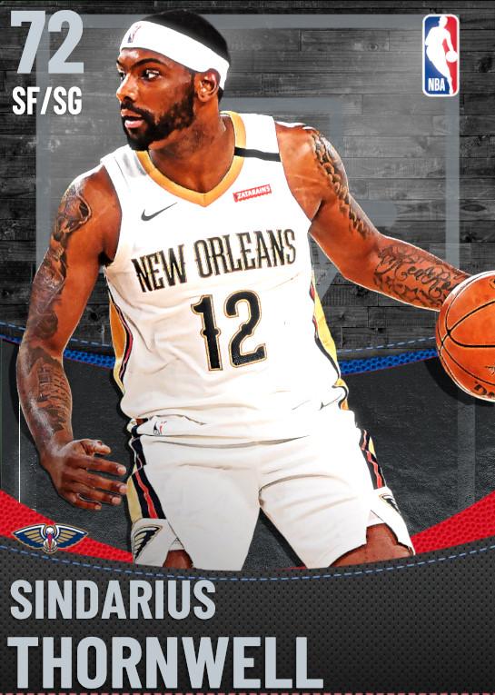 72 Sindarius Thornwell | New Orleans Pelicans
