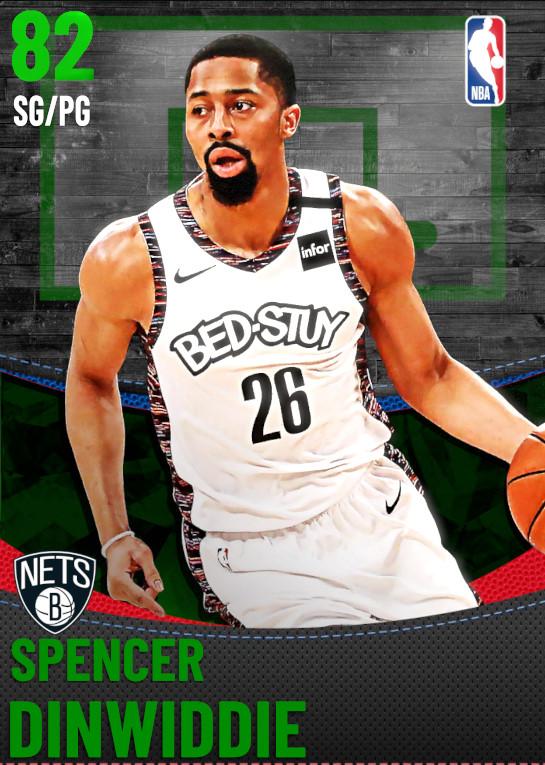 82 Spencer Dinwiddie | Brooklyn Nets