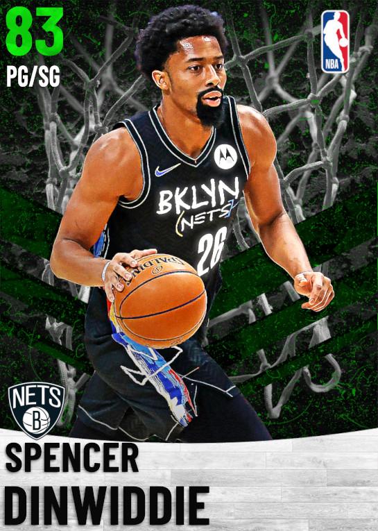 83 Spencer Dinwiddie   Brooklyn Nets