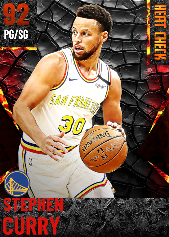 92 Stephen Curry | Golden State Warriors