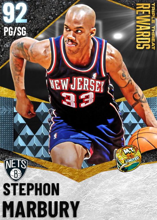 92 Stephon Marbury | undefined