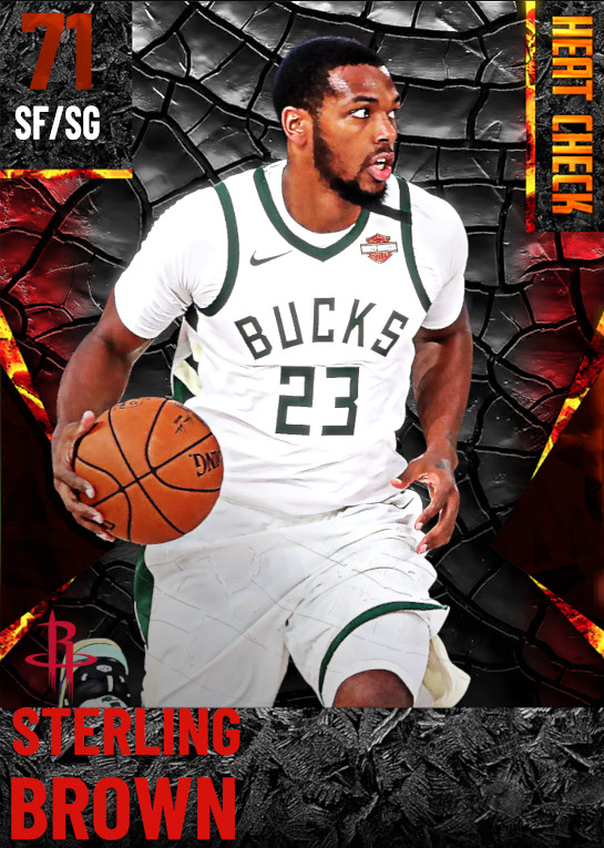 71 Sterling Brown | Houston Rockets