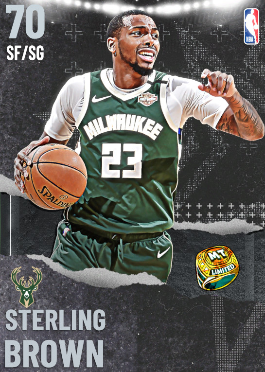 70 Sterling Brown | undefined