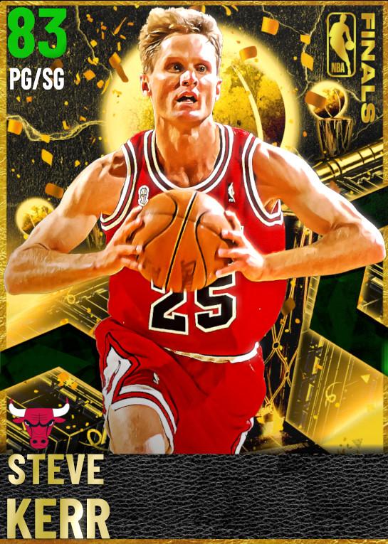 83 Steve Kerr | Finals