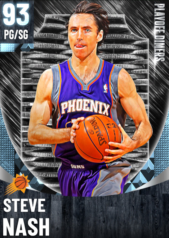 93 Steve Nash | One Will Rise Playoff Dimers
