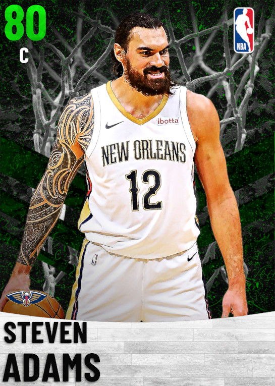 80 Steven Adams   New Orleans Pelicans