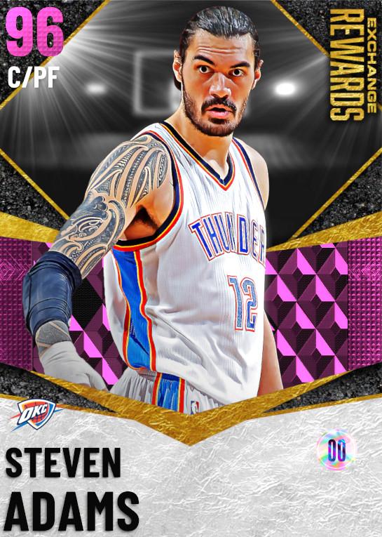 96 Steven Adams | undefined