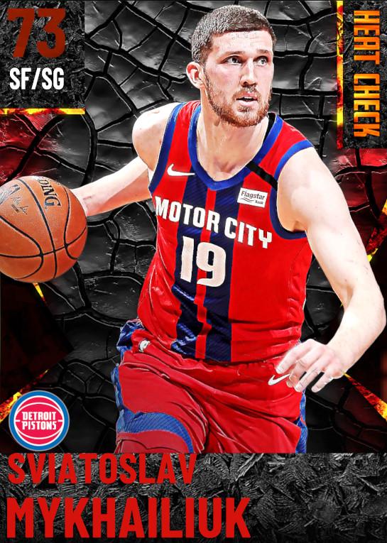 73 Sviatoslav Mykhailiuk | Detroit Pistons