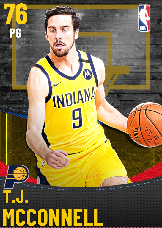 76 T.J. McConnell | Indiana Pacers