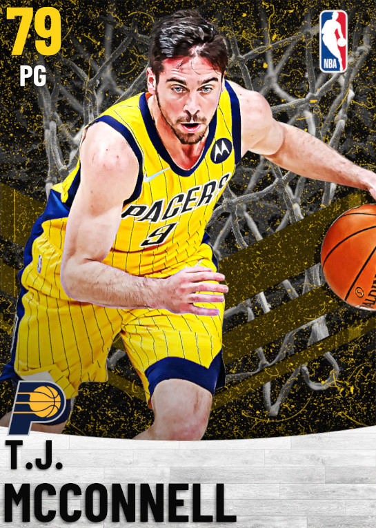 79 T.J. McConnell   Indiana Pacers
