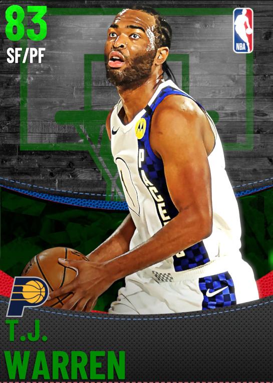 83 T.J. Warren | Indiana Pacers