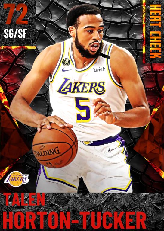 72 Talen Horton-Tucker | Los Angeles Lakers