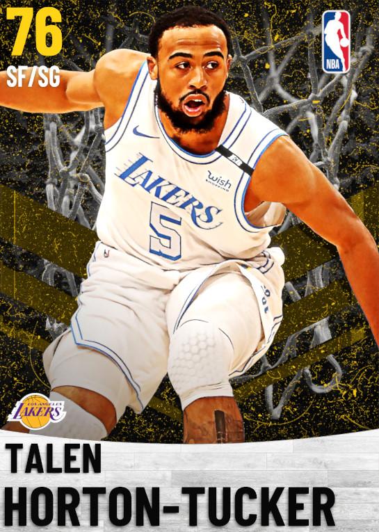 76 Talen Horton-Tucker   Los Angeles Lakers