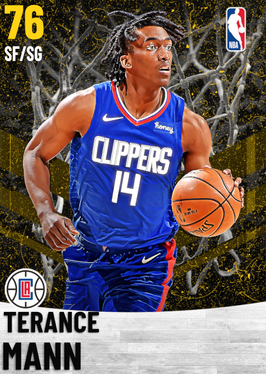 76 Terance Mann   Los Angeles Clippers