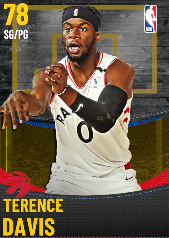 78 Terence Davis | Toronto Raptors
