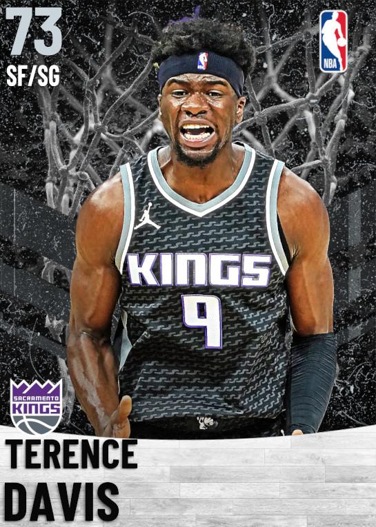 73 Terence Davis   Sacramento Kings