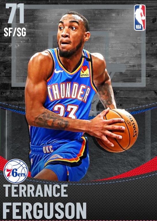 71 Terrance Ferguson | Philadelphia 76ers