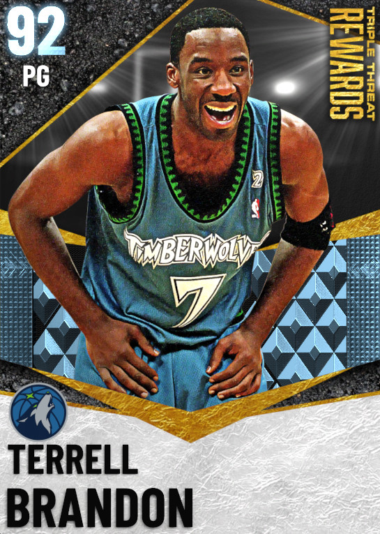 92 Terrell Brandon   undefined