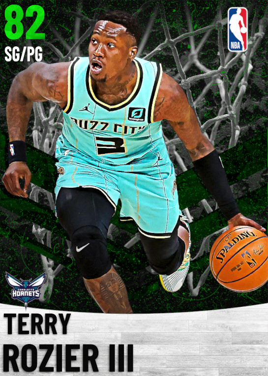 82 Terry Rozier III   Charlotte Hornets