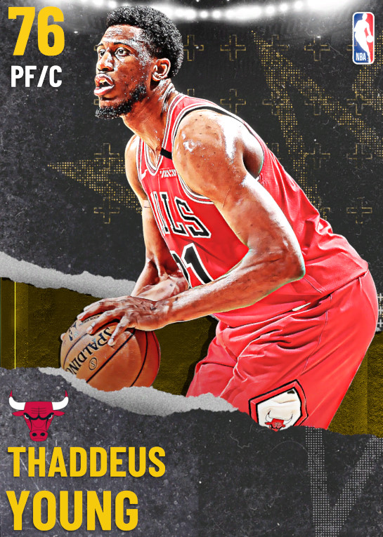 76 Thaddeus Young | undefined
