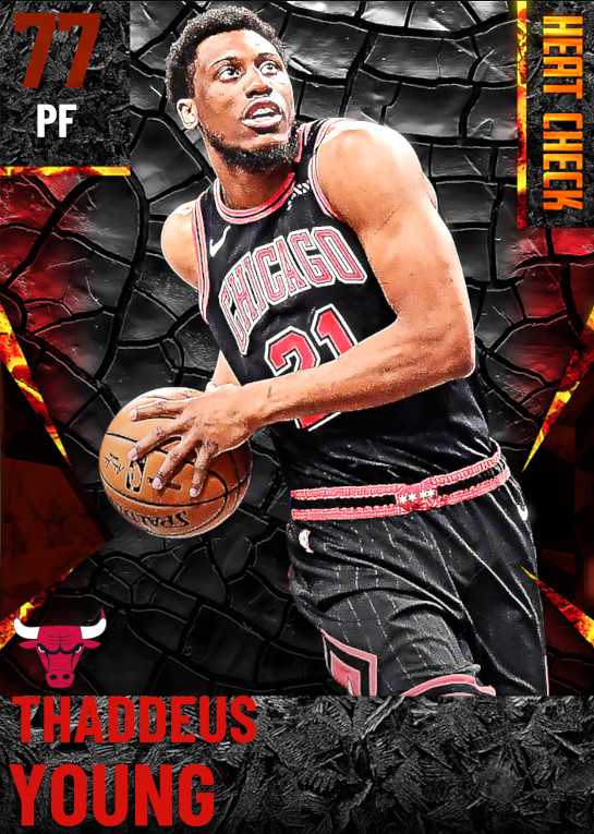 77 Thaddeus Young | Chicago Bulls