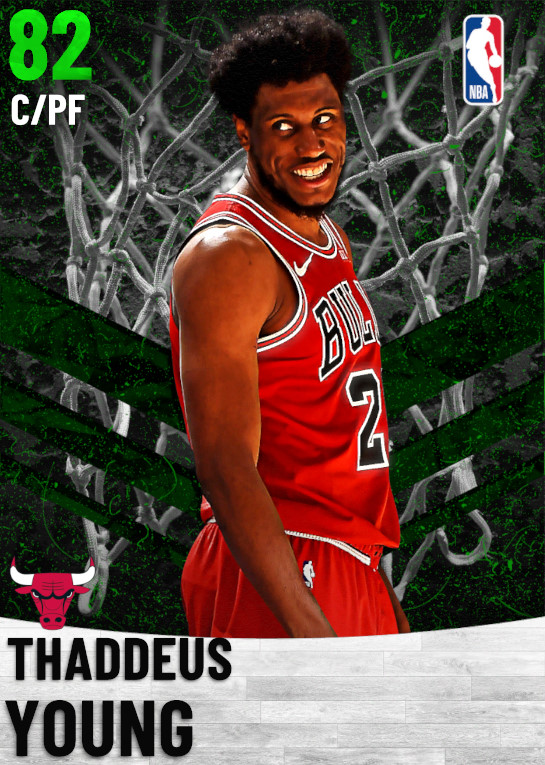82 Thaddeus Young   Chicago Bulls
