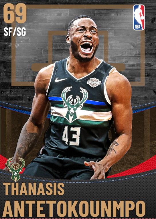 69 Thanasis Antetokounmpo | Milwaukee Bucks