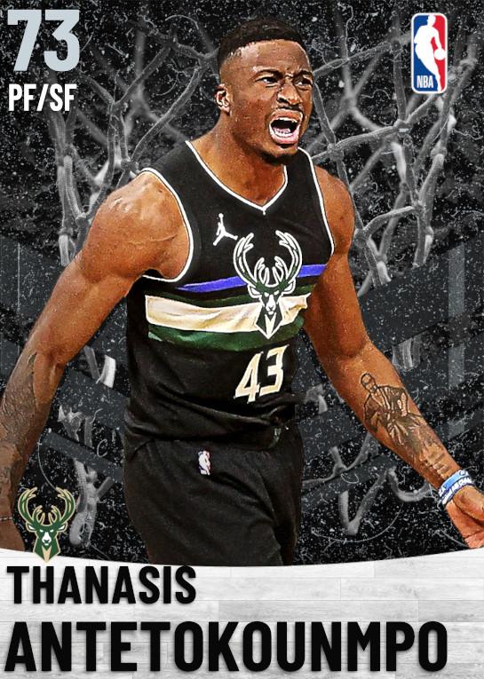73 Thanasis Antetokounmpo   Milwaukee Bucks