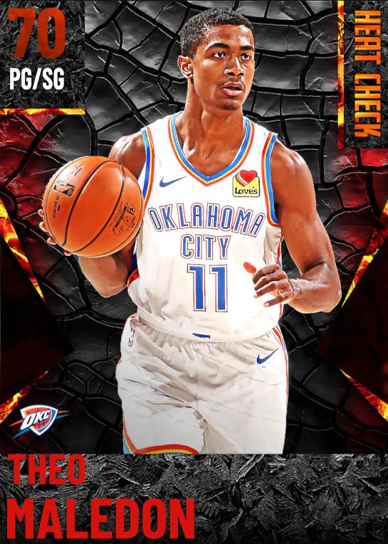 70 Theo Maledon | Oklahoma City Thunder