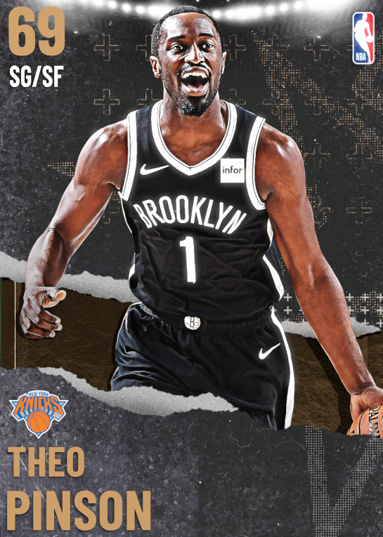 69 Theo Pinson | undefined