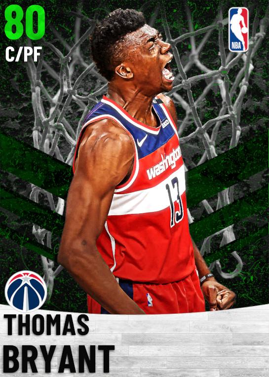 80 Thomas Bryant   Washington Wizards
