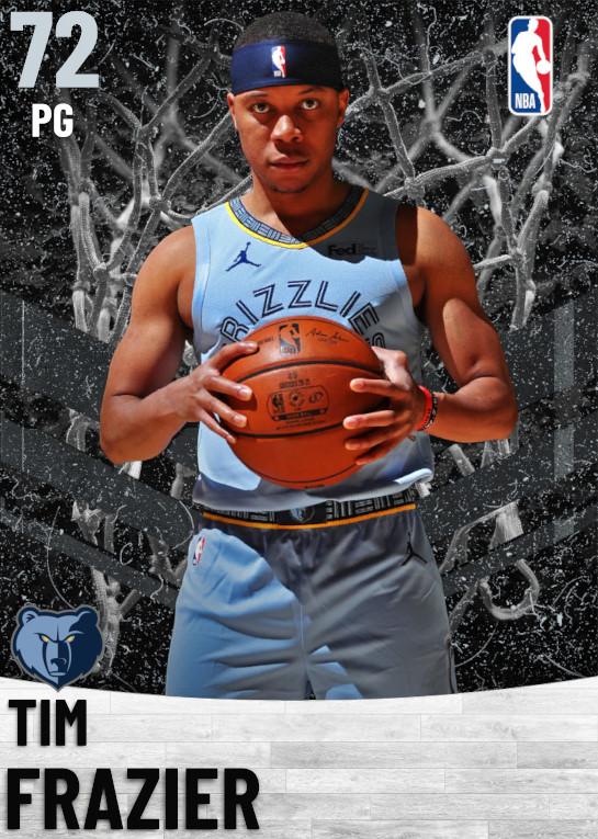 72 Tim Frazier   Memphis Grizzlies