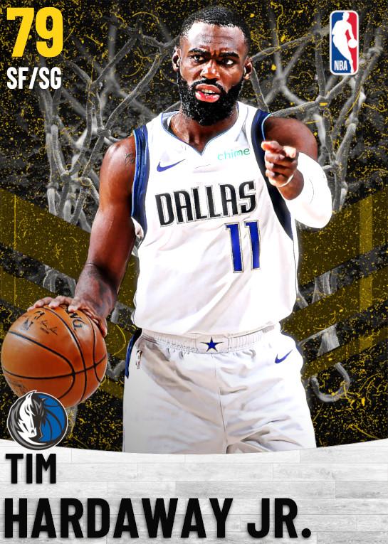 79 Tim Hardaway Jr.   Dallas Mavericks