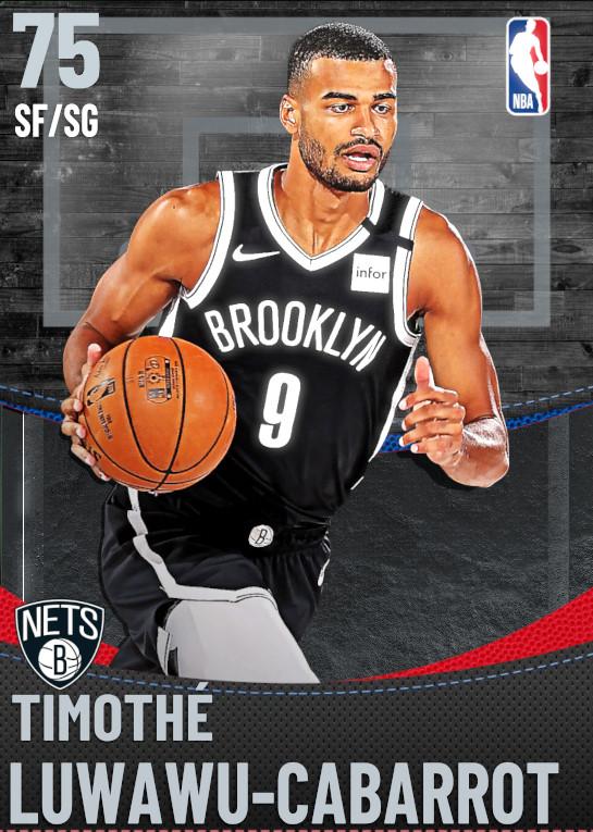 75 Timothe Luwawu-Cabarrot | Brooklyn Nets