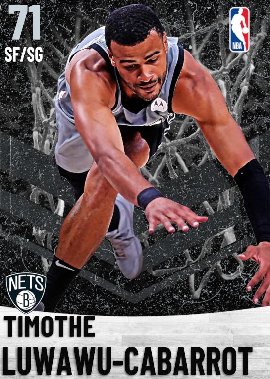 71 Timothe Luwawu-Cabarrot   Brooklyn Nets