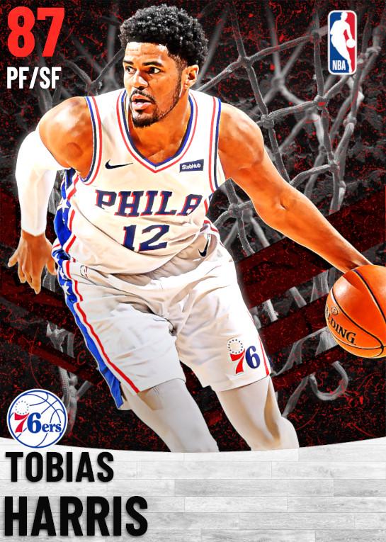 87 Tobias Harris   Philadelphia 76ers