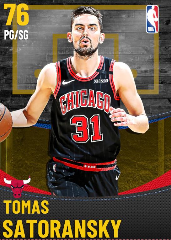 76 Tomas Satoransky | Chicago Bulls